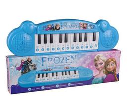 Wholesale Mini Keys Keyboard - 100pcs  22 Keys Baby Mini Electronic Piano Keyboard Musical Toy Intelligence Educational Electone Piano Toy for Kids