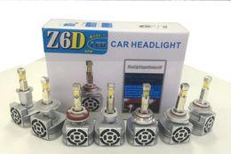 Wholesale Led 36v Headlights - 2016 NEW H1 H3 H7 H11 9005 9006 High Power 60W 6000LM Double Color White 6000K Amber 3000K 9V-36V Auto LED Headlight