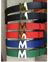 Wholesale Cartoon Character Resins - men red Belt With Original Box Official Belt
