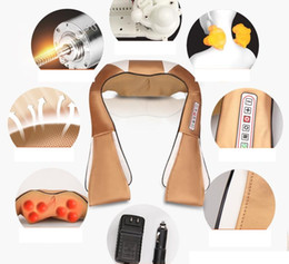 Wholesale Massager For Car - Infrared electric massage device for cervical vertebra shoulder neck body massager home car dual use