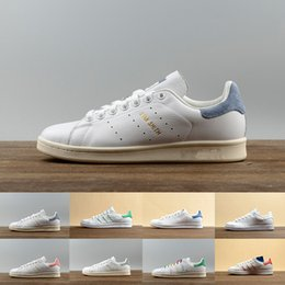 Wholesale Big Sizes Woman - 2017 New arrive Stan Shoes For Men And Women Fashion Sneakers Casual Sport Leather Lovers Smith Shoes Zapatos Mujer big size 36-44