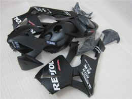 Wholesale Honda Repsol Cover - 3gifts+Tank cover+seat Cowl 100% Injection ABS Fairing Kit For HONDA CBR600RR F5 05 06 2005 2006 600RR CBR600 bodywork matte black repsol
