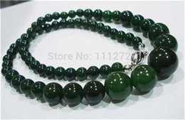"""Wholesale Wholesale Chalcedony Bead - Wholesale- Fashion jewelry 6-14mm 100% natural Chalcedony round beads necklace Accessory Parts Natural Stone 18"""" MY4329 Wholesale Price"""