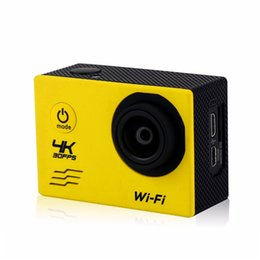 """Wholesale Rock Delivery - 2016 4K camera 30fps 2""""inch SJ9000 Sport Camera WIFI FULL HD MINI Action Camera with waterproof case30 metres fast delivery"""