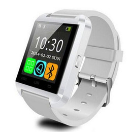 Wholesale Gt Smart - Smart Watch U8 Woman Man Sport Bluetooth Smartwatch Fitness Tracker for Android IOS Apple PK GT 08 DZ 09 watch