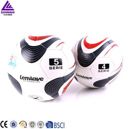 2016Lenwave Brand Official Match Pu Soccer Balls Size 4Champions Men Kids  Student Training Football 0180dafe7bd2b