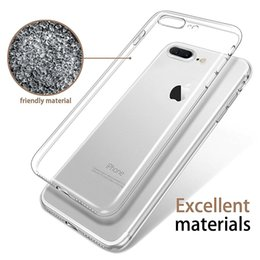 Wholesale Soft Tpu Cover - Ultra Thin for Iphone 7 Plus Iphone 6S Plus Case S8 S7 Edge S6 Edge Plus Crystal Clear TPU Silicone Soft Cover