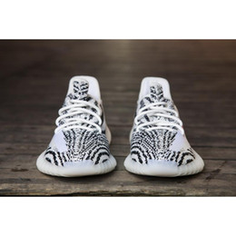 Wholesale Mesh Shoes Heels - NEW UPDATED 350V2 BOOST BZ0256 MEN WOMEN FOOTWEAR TOP QUALITY, KANYE WEST SPLY-350 REAL BOOST HEELS RUNNING SHOES OUTDOOR BOOST SIZE9.5