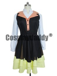 Wholesale Lucy Cosplay - Bungo Stray Dogs Lucy Maud Montgomery Halloween Party Dress Cosplay Costume