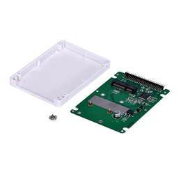 Wholesale Ssd Adapter Ide - Wholesale- High Quality JECKSION mSATA To 2.5Inch PATA IDE SSD Enclosure Adapter Case