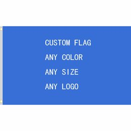Wholesale Punisher Logo - Custom flag 150X90cm (3x5FT) 120g 100D Polyester any logo any color royal falg punisher flag USA Police Flags
