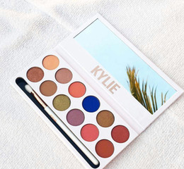 Wholesale Eyeshadow Makeup Cosmetic Palette - free shipping DHL ! HOT kylie cosmetics New makeup kylie jenner the Royal peach 12 color eyeshadow palette   eyeshadow palettes