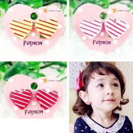 Wholesale Wholesales Clip Baby Earrings - Childrens Cute ear clips design accessory heart Jewelry Baby girls Resin earings Girl's Stud Earrings Kids Ear Clips DHL free shipping CK409