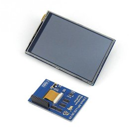 Wholesale Raspberry Pi Heat Sink - Wholesale For Pi 3 Model B Board with 3.5inch TFT Raspberry LCD Touch Screen Display + Acrylic Case + Heat sinks For Raspbery Pi 3 Kit