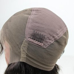 Wholesale Wave Caps Wholesale - Top Quality Lace Front Cap Swiss French Lace Full Lace Caps For Making With Ajustable Strands and Combs Free Shipping