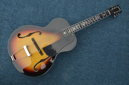 Wholesale Oem Jazz Guitars - free shipping2015 new guitarra JAZZ GUITAR custom shop oem electric jazz guitar clear color guitarra guitar in china