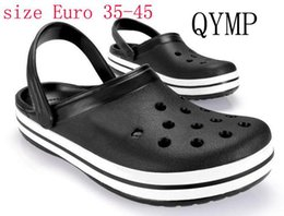 Wholesale White Suit Shoes Men - 2017 new slippers shoes Men and women ladies suit foot thick round beach bath slippers Female Free mail Beach sandals 1pcs lot size35-45#611