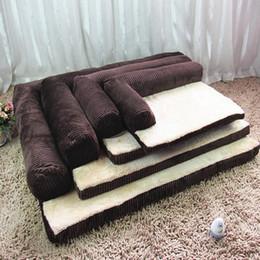 Wholesale Foam Houses - Luxury Large Memory Foam Dog Bed Sofa Puppy Cat Cushion For Big Dogs Nest Teddy Huskey Alaska Mat Kennel Pet House S M L XL