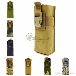 Wholesale Canvas Water Bottle - Survival Gear Tactical Pouches Molle Pouches Army Water Bottle Pouch, Outdoor Camping Portable Pouch Bag Handbags Tool Pouch