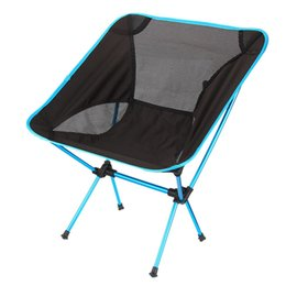 Wholesale Car Seat Lights - Ultra Light Folding Fishing Chair Seat for Outdoor Camping Leisure Picnic Beach Chair Other Fishing Tools