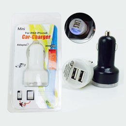 Wholesale Nipple Plug - Car Charger Travel Adapter nipple dual usb ports Colorful Micro USB Car Plug USB Adapter For mobile phones