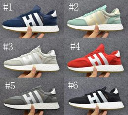 Wholesale Leather Casual Shoes Beige Womens - Classic New Iniki Runner Boost Original Outdoor Casual Shoes Grey-Core Purple Black blue Red Camo beige Sneakers Men Womens Shoes 36-44