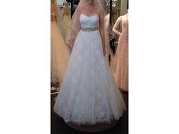 Robed mariage empire on-line-Uma Linha Querida Império Cintura Tule Rendas Vestido De Noiva Vestido de Casamento Custom Made Vestido De Noiva De Casamento Robe De Mariage