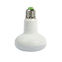 Wholesale E27 Natural White - E27 LED Light Bulbs 12W R80 BR30 Umbrella bulb dimmable 110V 220V warm natural cool white 120Degree emitting 100LM W free shipping