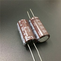 Wholesale Audio Electrolytic Capacitors - Wholesale- 2pcs 15000uF 10V Japan ELNA RJ4 Series 18x35mm 10V15000uF Audio capacitor
