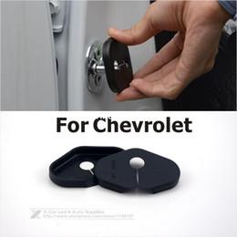 Wholesale Door Lock Protection Cover - 4Pcs Lot Car Door Lock Protection Cover Auto Decoration For Chevrolet Malibu Aveo Cruze Volt Camaro Trax 2015 Classic Cruze