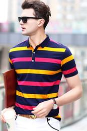 Wholesale Mens Shirts Big Sizes - Brand POLO Shirts Men Fashion Deign Big Size Mens Polo Shirt Top Quality Famous Brand Man Shirt