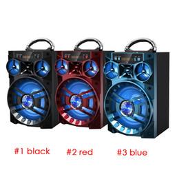 bluetooth altoparlante hi fi Sconti Altoparlante Bluetooth MS-188BT Altoparlante Hi-Fi Amplificatore per basso senza fili Subwoofer Music Box con USB Luce FM TF Radio MIS137