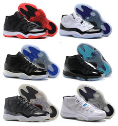 Wholesale High Quality Retro Space Jam Bred Gamma Blue Basketball Shoes Men Women s Concords Legend Blue Cool Grey Sneakers With Box