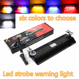Wholesale Auto Police - Viper Federal Signal 12pcs High Power Led Car Auto Warn Police Emergency Flash LED Light 12V Car Front Light Car Lamp