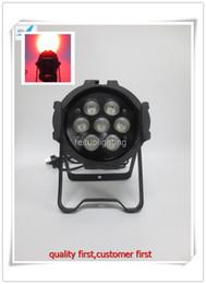Wholesale Led Par Lights Cheap - 8pcs lot Top Quality Cheap Indoor Stage Led Par64 Cans 7X15W RGBAW LED PAR Light 5-IN-1