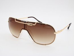 Wholesale Sunglasses Brand Authentic - With Cazals Box Authentic Cazals 903 Sunglasses Black Brown Top Quality Polarized Glasses With Brand Plank Eyewears Oculos Lunette