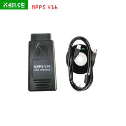Wholesale Opel Ecu Programmer - MPPS V16 ECU Chip Tuning for EDC15 EDC16 EDC17 Inkl CHECKSUM with multi-language