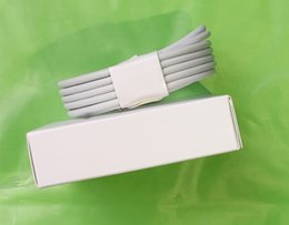 Wholesale Chinese Aluminum - 2m 6ft 5 7 generations OD:3.0mm AAAA Quality USB Data Charger USB Cable With aluminum x 8 6 CABLE with retail Package