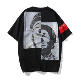 Fábrica al por mayor de Japón retro hombres jóvenes Harajuku Shawn Yue marca de marea de verano hombres camiseta parodia payaso desde fabricantes
