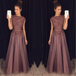 Wholesale Import China Party - Luxury Crystal Beaded China Prom Dresses Long 2017 Vestido De Festa Girls Imported Party Dress A-Line Satin Evening Gowns Formal