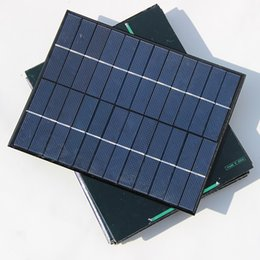 Wholesale Diy Phone Kits - Xionel 3pcs lot Wholesale 5.2W 12V Mini Solar Panel Module Solar System kits Solar Epoxy Cells Charger DIY 210x165mm