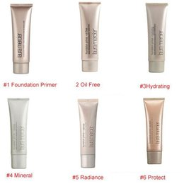 Wholesale Mineral Oil Based - HOT Laura Mercier Foundation Primer Hydrating  Mineral  Oil Free Base 50ml 4styles High Quality Face Makeup 6 Styles SPF 30 Base 50ml Face