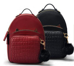 Wholesale Han Edition Leather Backpack - Han edition tide female baotou layer cowhide leather handbag backpack high-end leisure boom leisure packages