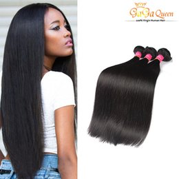 Wholesale Cheap Brazilian Deal - 7A Brazilian Hair Bundle Deals Natural Color Factory Wholesale Cheap 3Bundles Brazillian Straight Beauty Grace Hair Products No Tangle