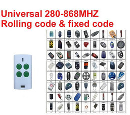 Wholesale 868mhz Remote - Universal Multi Frequency remote duplicator FIXED CODE AND ROLLING CODE 280~868MHz