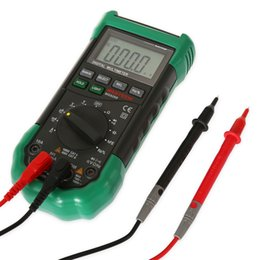 Wholesale Dc Ac Ammeter - MASTECH Auto Range Digital Multimeter Full protection ac dc ammeter voltmeter ohm Frequency electrical tester +B