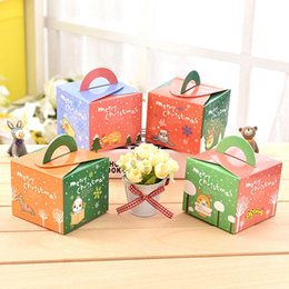 Wholesale Cheap Candy Apples - Wholesale cheap Christmas holiday products Apple packing box 4 candy packaging gift box Christmas Eve high-quality fruit