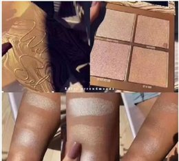 Wholesale Wholesale Powder Palette - Newest Kylie Jenner The Wet Set 4color Bronzer & Highlighters Pressed Powder Palette Unbothered Get A Way By Kylie Cosmetics
