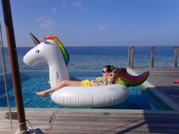 Canada Licorne Flotteurs Gonflables Unicorn Gonflable Ride-On jouets pour enfants et adultes Offre