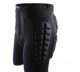 Wholesale Elbow Armor - Wholesale-2015 New Unisex Sport Racing Ski Safety Protection Motorcycle Snowboard Skating Roller Armor Shorts Hip Protector